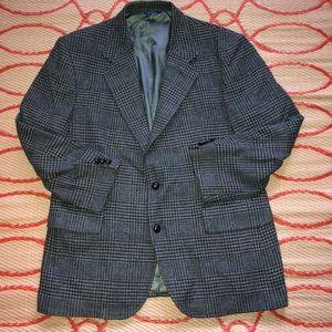 Pendleton Wool Glen Plaid Sport Coat Jacket Blazer